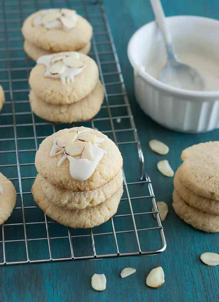 Low Carb Almond Cookies - Moist, delectable and like nothing I've tried before!