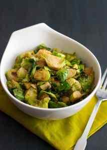 Italian Vinegar Brussels Sprouts