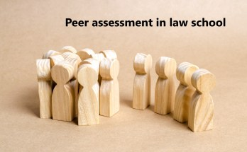 Peer assessment in law school