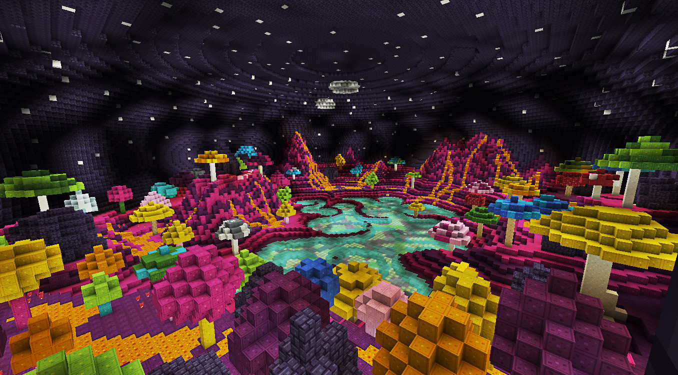 Fond Dcran Minecraft La Plante Champignon
