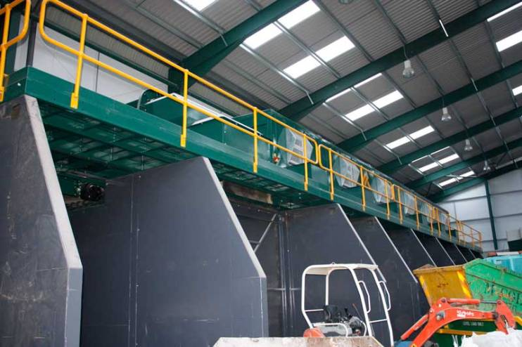 Waste Recycling Equipment Picking Station