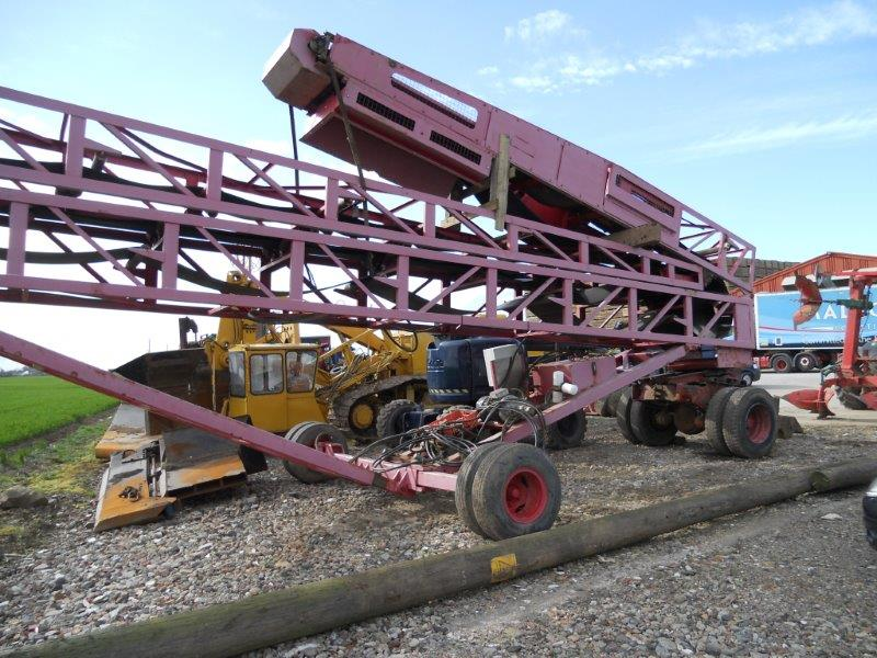 Used Conveyor for Sale Finlay 100' Radial Stockpile