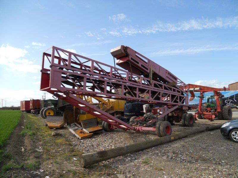 Used Conveyor for Sale Finlay 100' Radial Stockpile