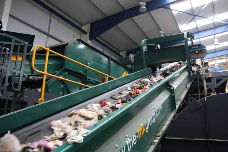 Solid Recovered Fuel (SRF) - Heavy Line Lancashire Waste Recycling's Solid Recovered Fuel (SRF) Plant