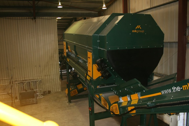 Trommel Screen Urban Skip Hires Waste Recycling System