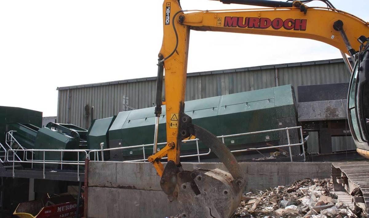 Waste Recycling System JM Murdoch & Son Ltd