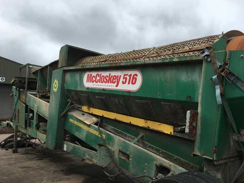McCloskey 516 Trommel Screen