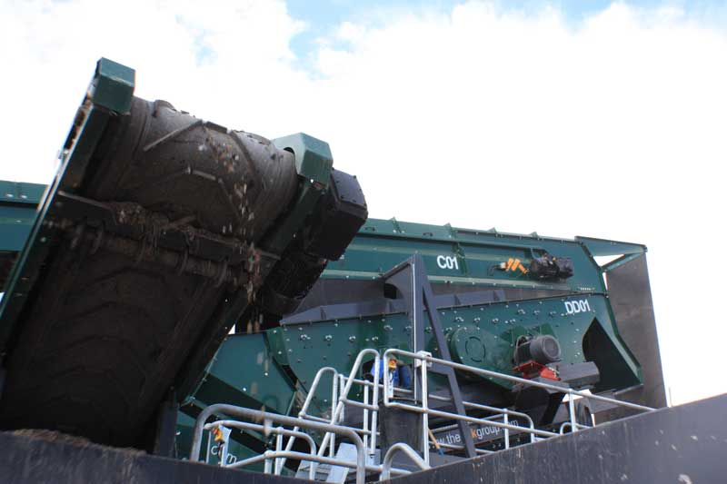 Waste Screen Heavy Fraction Waste recycling Equipment