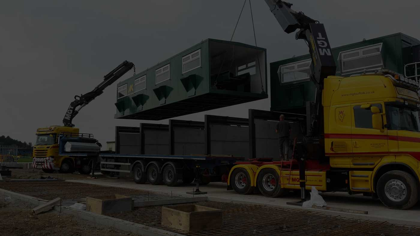 Waste Recycling Equipment Cabin