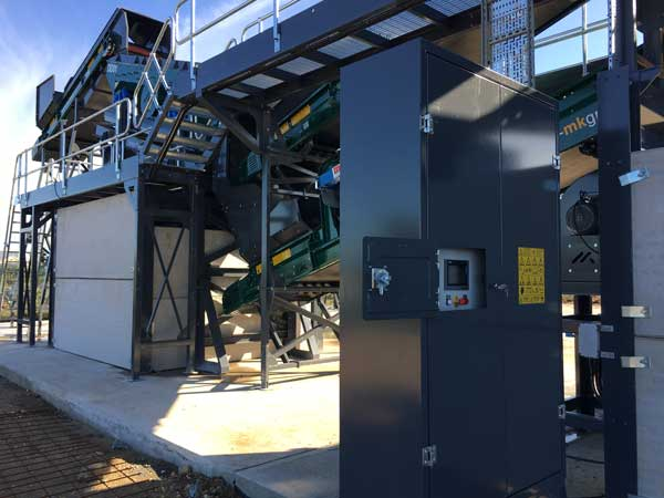 Control-Cabinet-600 Waste Recycling System