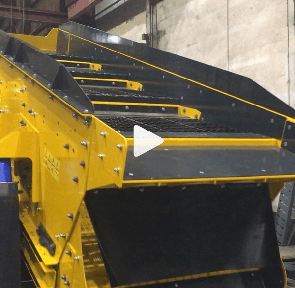 Combi Recycling Waste Screen in Testing