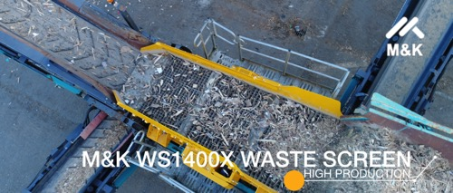 Waste Wood converted to clean biomass fuel of a consistent size
