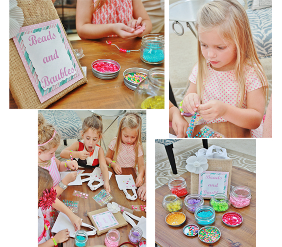 Tea Party Birthday Activity