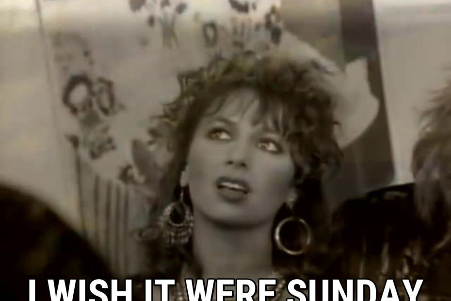 The Bangles - I wish it where Sunday