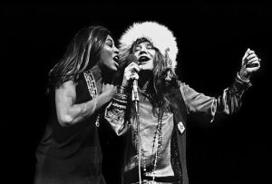 Janis Joplin és Tina Turner Performing at Madison Square Garden, 1969 november 27