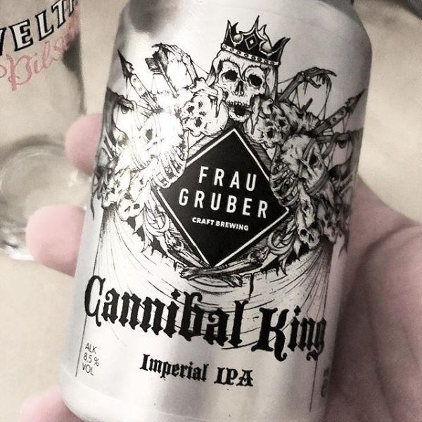 Der König der Kanibalen! @psychoproductionsnrw wäre stolz auf @fraugruber_brewing