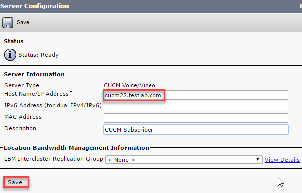 Phoning it in – Deploying CUCM – The Packet Thrower's Blog
