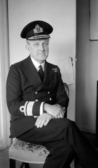 Rear Admiral John Godfrey was the head of the Naval Intelligence Division and Fleming's boss. This crusty and unorthodox figure was said to be the inspiration for 'M', Bond's superior in the novels