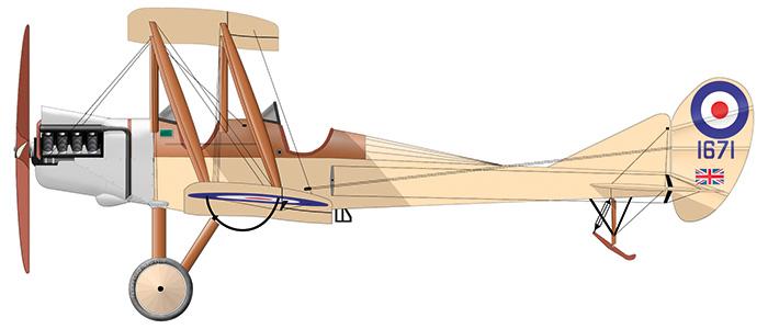ROYAL AIRCRAFT FACTORY BE2C (1914)