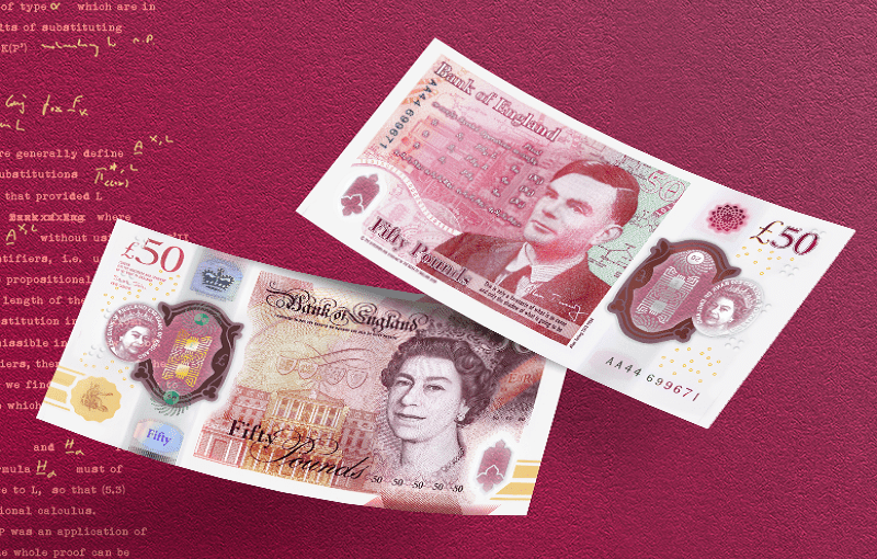 New £50 note featuring Alan Turing revealed