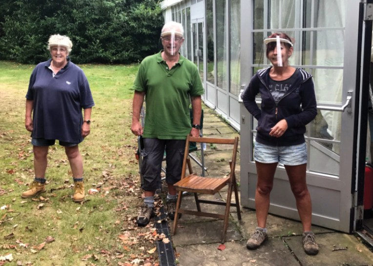 left A NLHF grant allowed the team from the Caistor Roman Project to continue with their work last year while following strict COVID-19 safety measures.