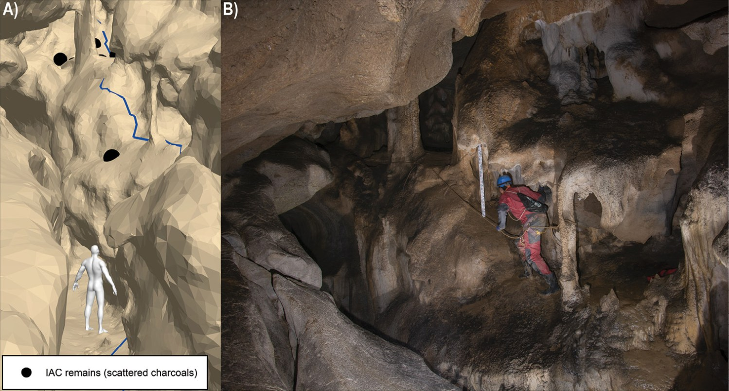 ABOVE Using a combination of 3D modelling, experimental archaeology, and GIS,researchers have been able to create an accessibility model for cave art.