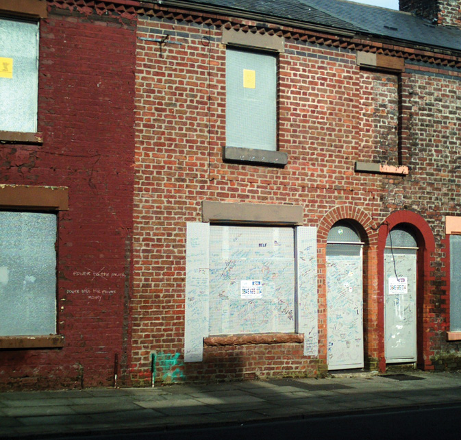 RIGHT SAVE was successful in preventing the demolition of 9 Madryn Street in Toxteth, the birthplace of Ringo Starr.