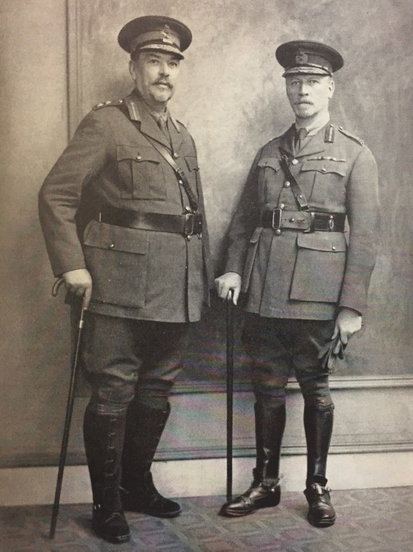 LEFT The two former Botha commanders, Louis Botha and Jan Smuts, played a major role in post- war politics both in South Africa and in the wider British Empire. They appear here at the 1919 Versailles Conference.
