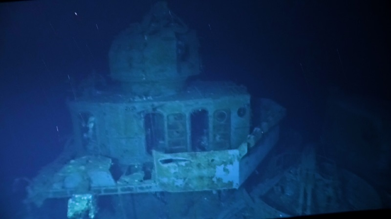 World's 'deepest-known shipwreck' surveyed in the Pacific Ocean