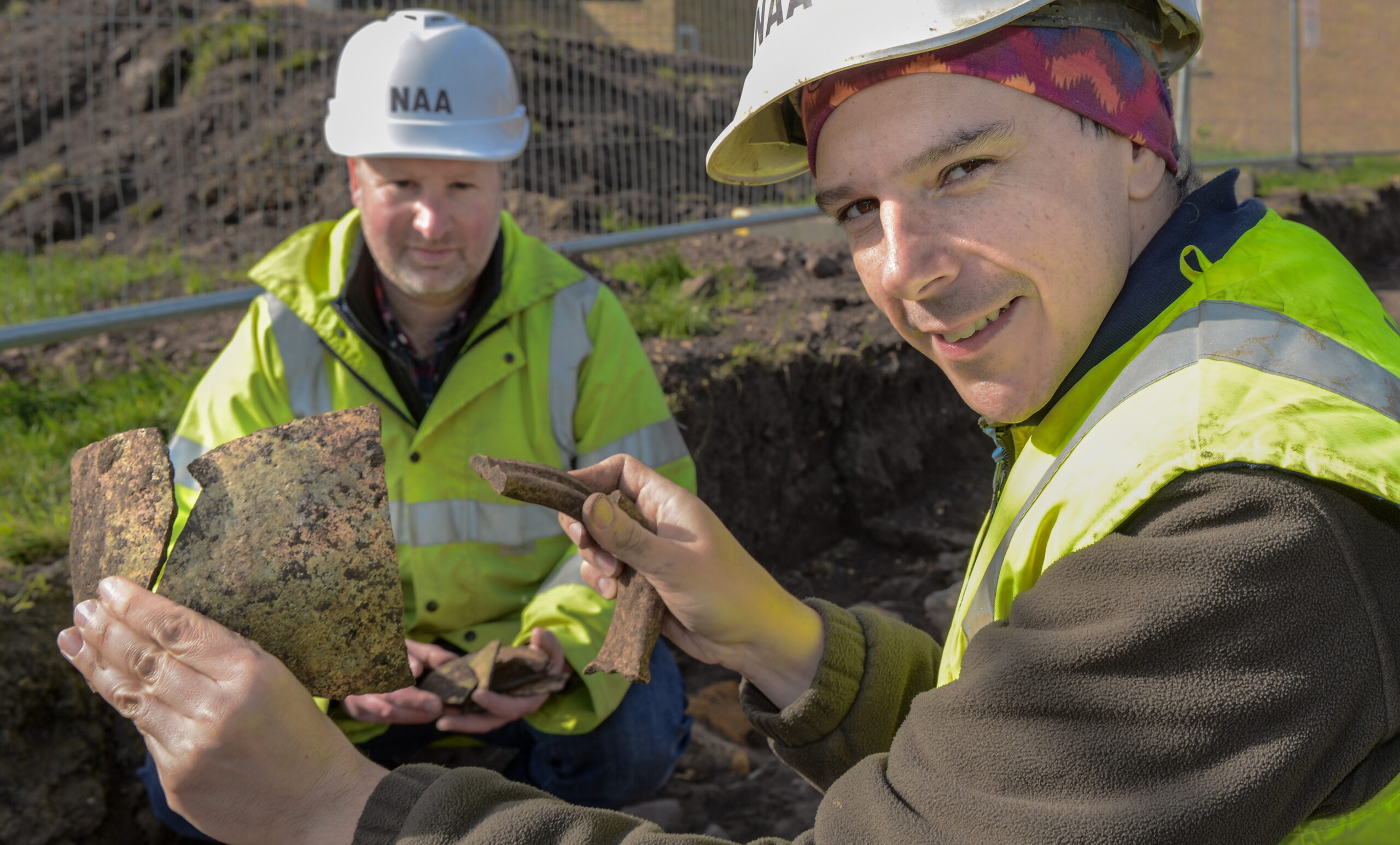 Berwick Infirmary excavation uncovers medieval structures