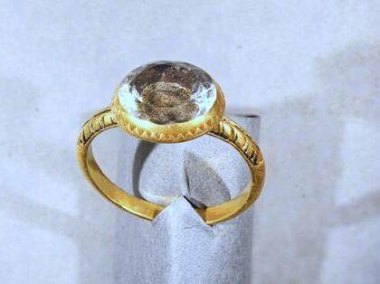 Stuart-era mourning ring declared Treasure