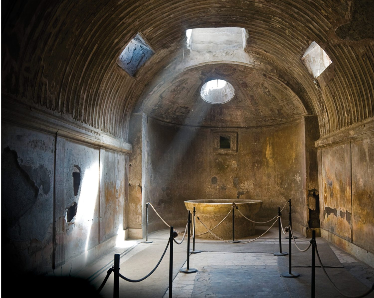 above Inside the Forum Baths at Pompeii. The ancient city is one of the most extraordinary archaeological sites in the world, but how is its director selected? Richard Hodges lets in some light on the process.