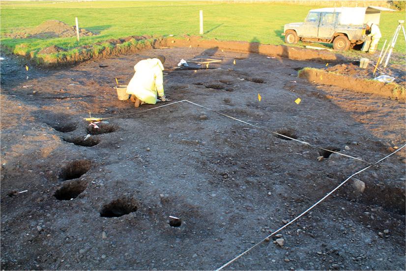 Digging Dunragit's prehistoric past