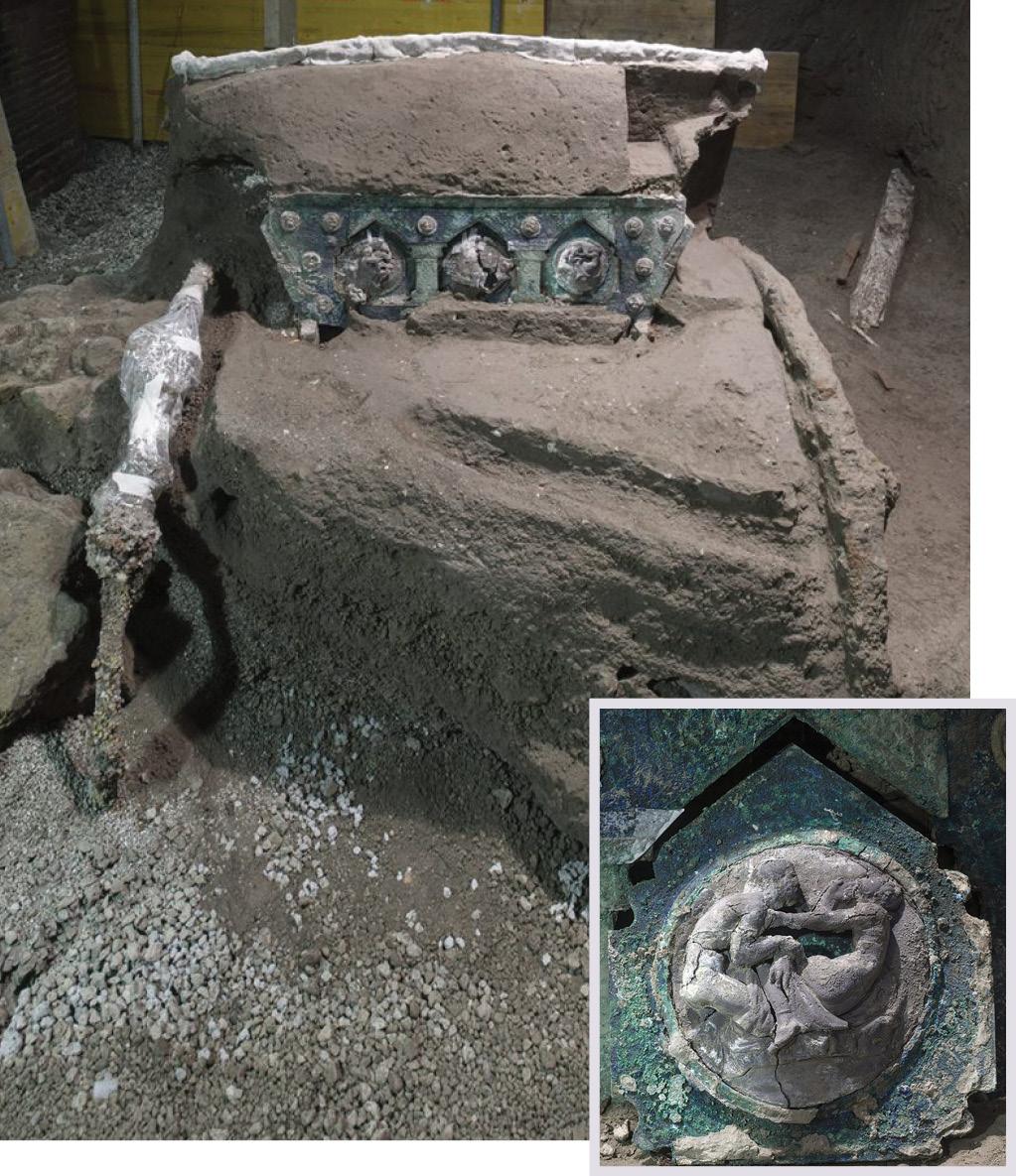 Pompeii's VIP Vehicle