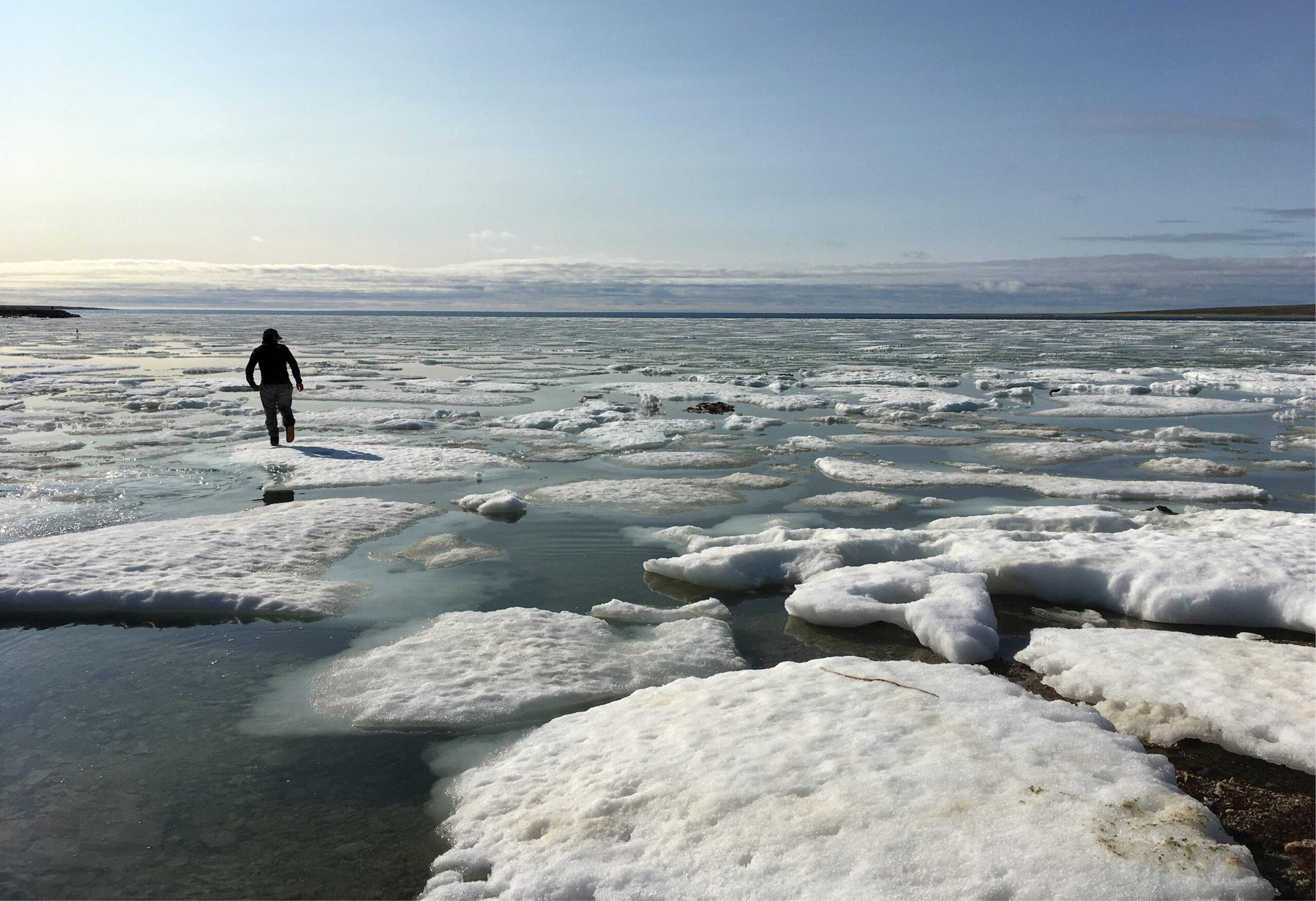 Arctic: digging in permafrost