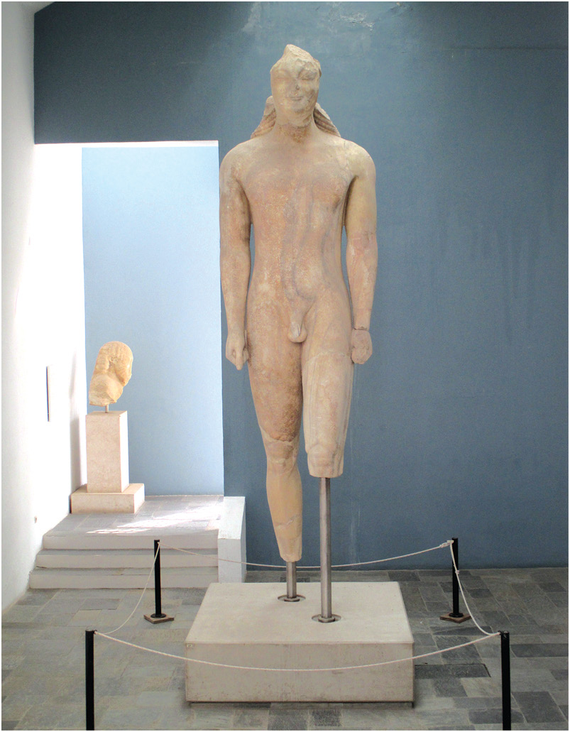 The Kouros of Samos (LEFT) and the Tunnel of Eupalinos (ABOVE) are just two examples of the impressive archaeology on Samos.