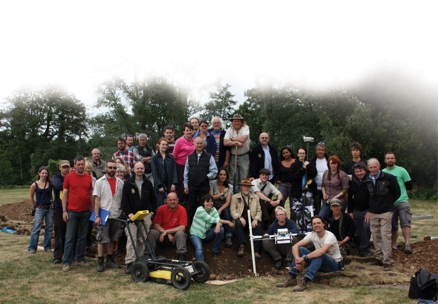 below The series 19 team. Moving production to Cardiff brought major changes behind the scenes.
