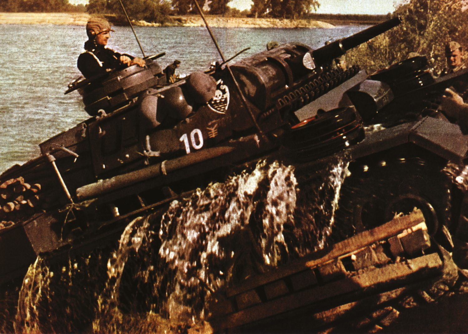 OPPOSITE A Panzer III fords a river during Operation Barbarossa in the summer of 1941 one of the 3,000 Axis tanks forming the armour component of the greatest military invasion in history.