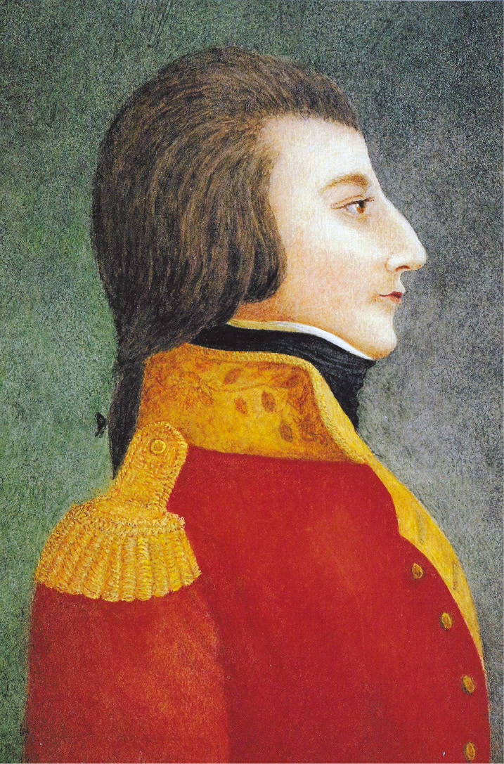 BELOW Wolfe Tone (1763-1798), the Irish revolutionary leader who hoped that a combined French invasion and Irish uprising would overwhelm the British and secure Irish independence.