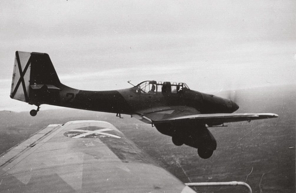 RIGHT The German Condor Legion played a key role in ensuring Nationalist air supremacy for much of the Spanish Civil War. The conflict allowed the Luftwaffe to undertake extensive combat testing of new aircraft types such as this Ju 87A 'Stuka' dive-bomber.