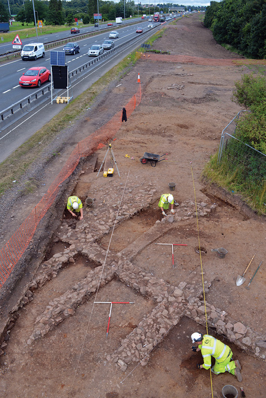 Medieval village uncovered near Netherton