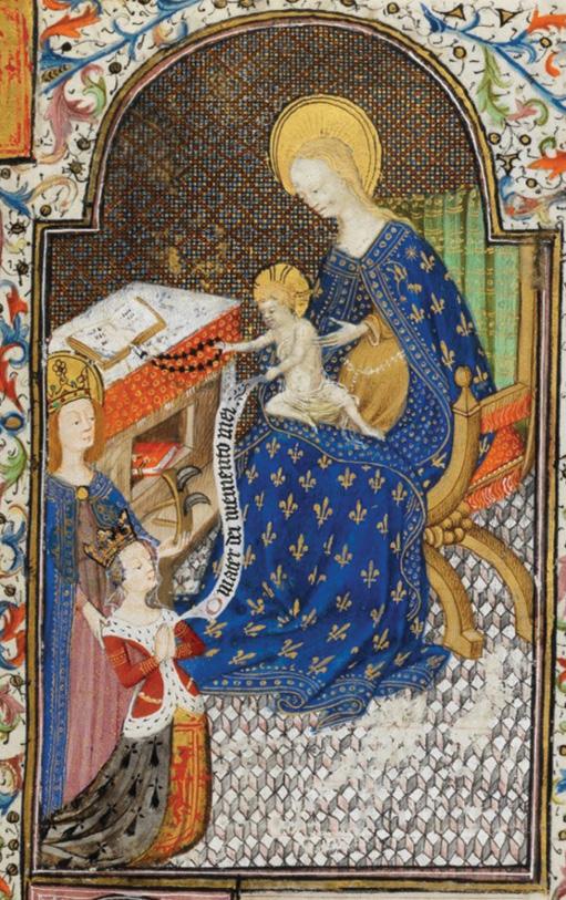 Examining the Hours of Isabella Stuart