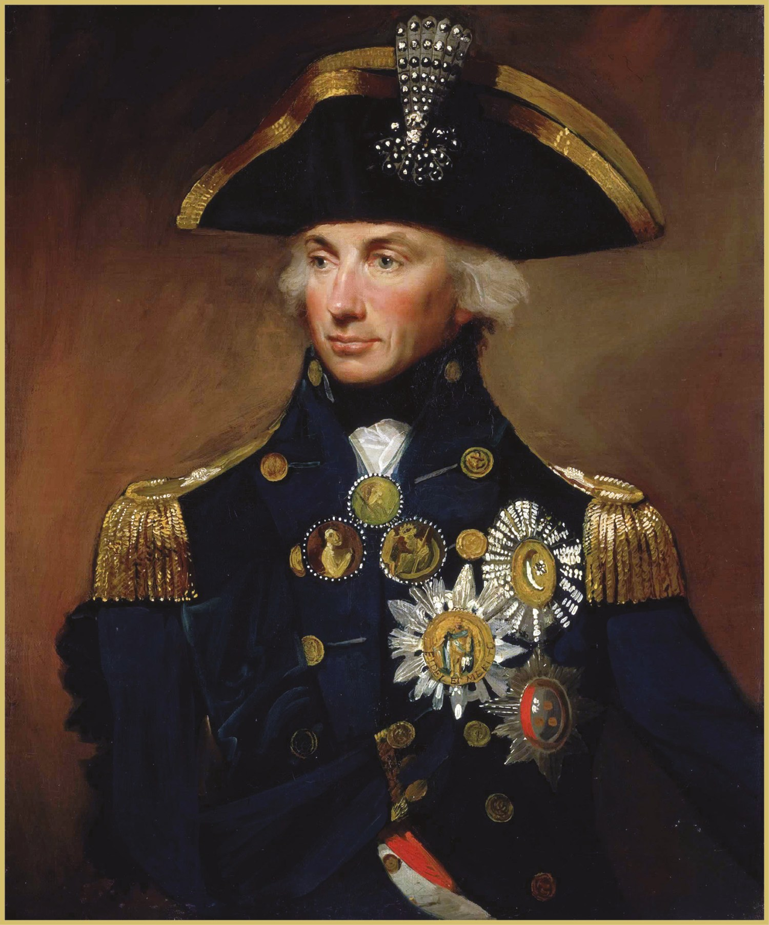 OPPOSITE Admiral Lord Horatio Nelson (1758-1805), painted in 1800.