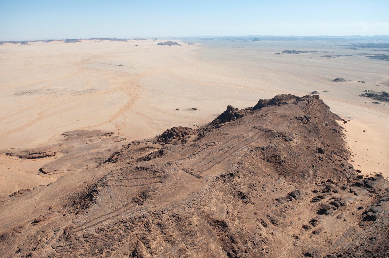 Prehistoric structures in Saudi Arabia