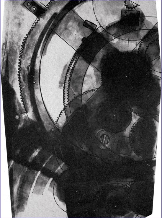 An X-ray of Fragment A, taken by Charalambos Karakalos in 1970 (ABOVE LEFT). The teeth of the gears have been marked in order to count the number. Information from such X-rays allowed Derek de Solla Price to create his model of the Antikythera Mechanism (ABOVE RIGHT).