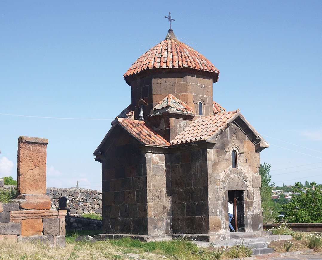 below Kramravor, the earliest surviving Armenian church. Right The church of St Hripsime, a beautiful virgin who escaped the clutches of the evil emperor Diocletian, only to be martyred in Armenia.