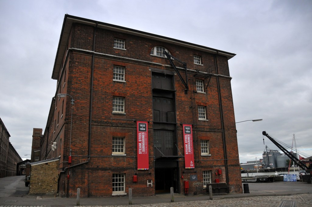 The Fitted Rigging House at the Historic Dockyard in Chatham. The renovation project has allowed for the enhancement of the 19th and 20th century 'Steam, Steel, and Submarines' galleries. Image: The Historic Dockyard Chatham.