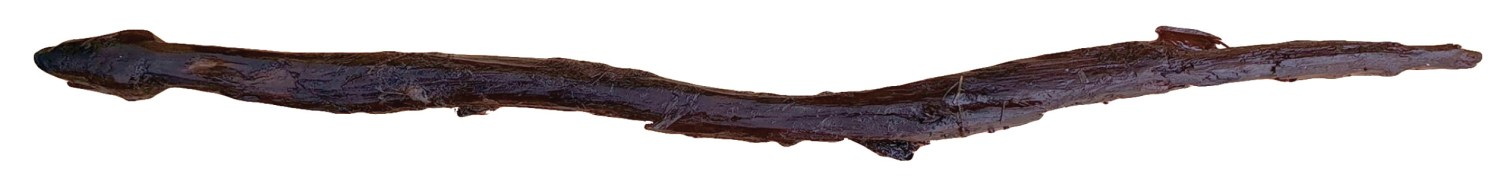 above A wooden figure of a snake found at the Neolithic site of Järvensuo 1 in Finland.