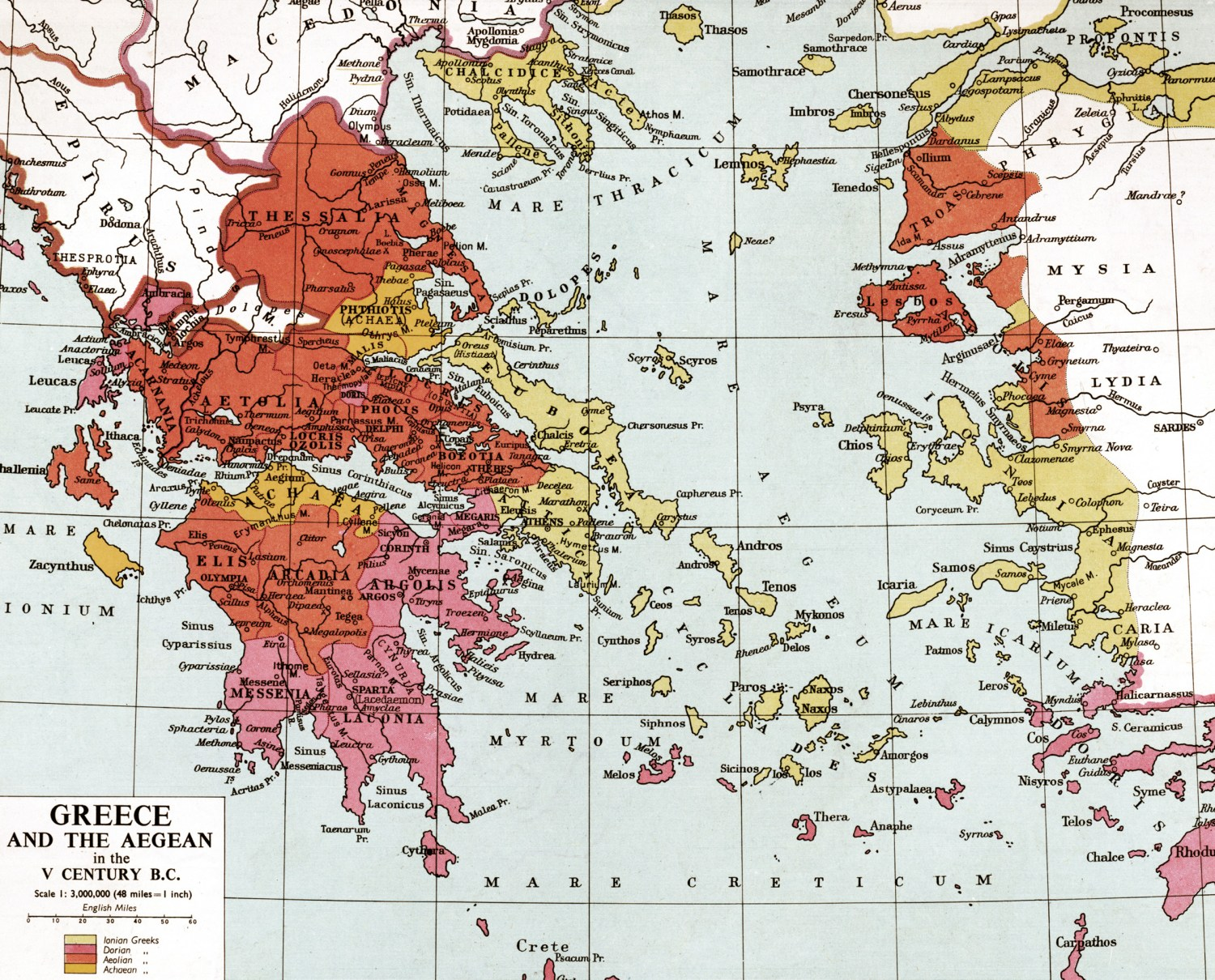 below Ancient Greece. Sparta controlled the southern Peloponnesian provinces of Laconia and Messenia, and sought hegemony across the rest of the Peloponnese, in order to isolate her main rival, Argos, and to secure the Isthmus of Corinth, the invasion route from the north.