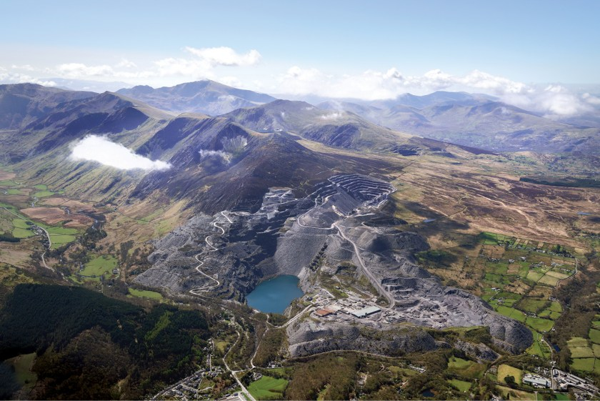 ABOVE The Slate Landscape of North-west Wales has been added to the UNESCO World Heritage list because of its significance as a cultural landscape.